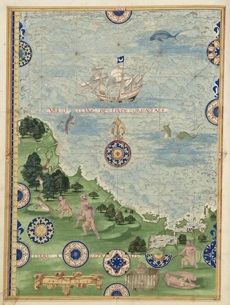 Cosmographie Universelle - Terre australe [IV] (1555)