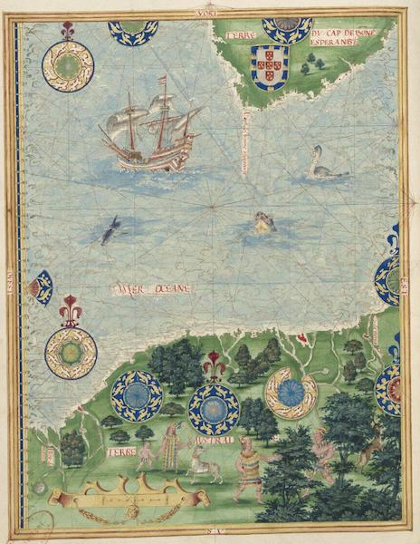 Cosmographie Universelle - Terre australe [V] (1555)