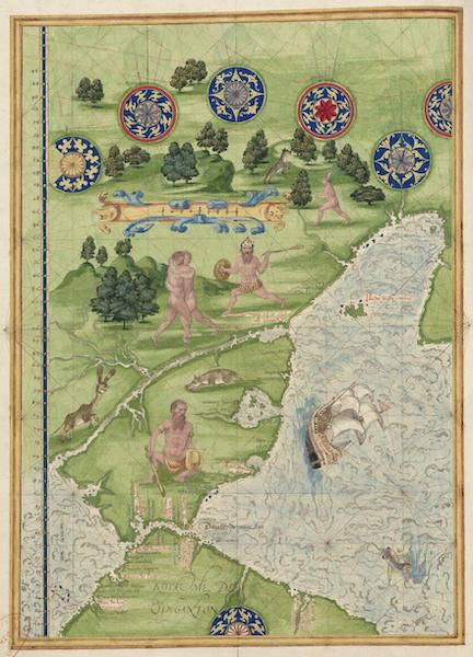 Cosmographie Universelle - Terre australe [VIII] (1555)