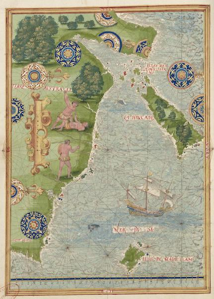 Cosmographie Universelle - Terre australe [X] (1555)