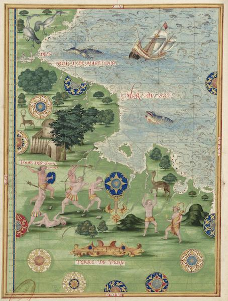 Cosmographie Universelle - Terre du Perou [II] (1555)