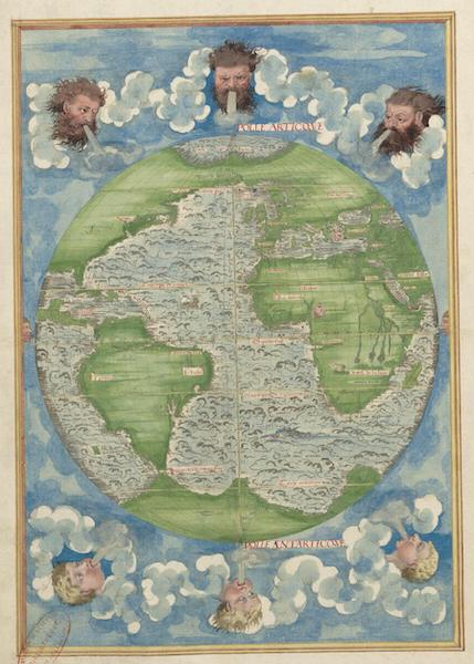Cosmographie Universelle - Troisieme Projection (1555)