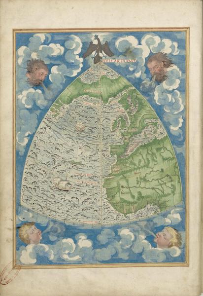 Cosmographie Universelle - Premiere Projection (1555)