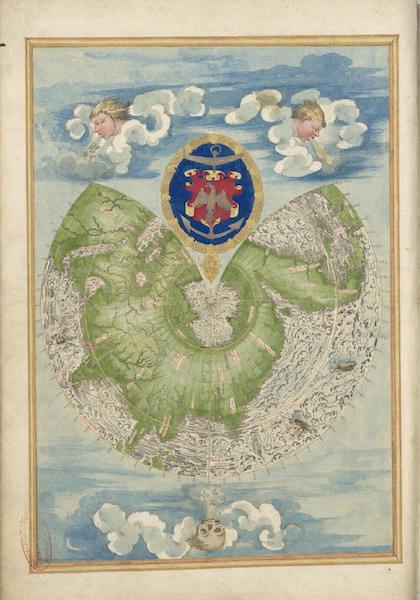 Cosmographie Universelle - Deuxieme Projection (1555)