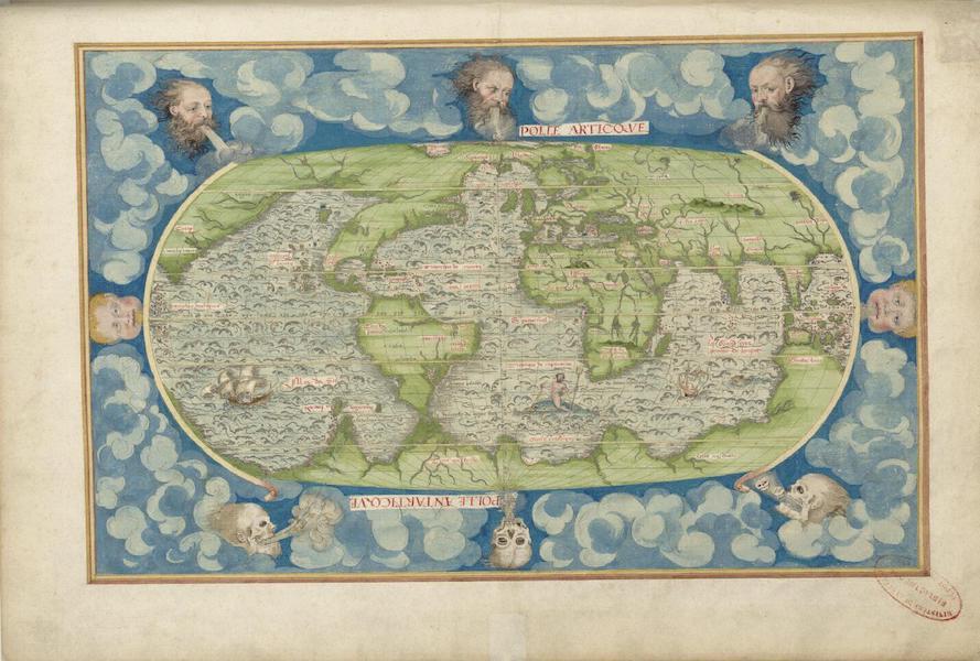 Cosmographie Universelle - Quatrieme Projection (1555)