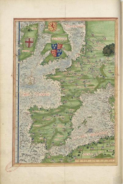 Cosmographie Universelle - Europe occidentale (1555)