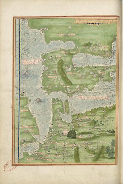 Cosmographie Universelle - Europe septentrionale et Groenland II (1555)