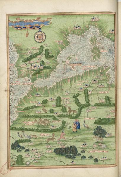 Cosmographie Universelle - Europe meridionale et Afrique du nord-ouest I (1555)