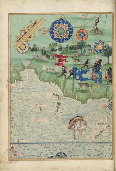 Cosmographie Universelle - Afrique du Nord-ouest (1555)