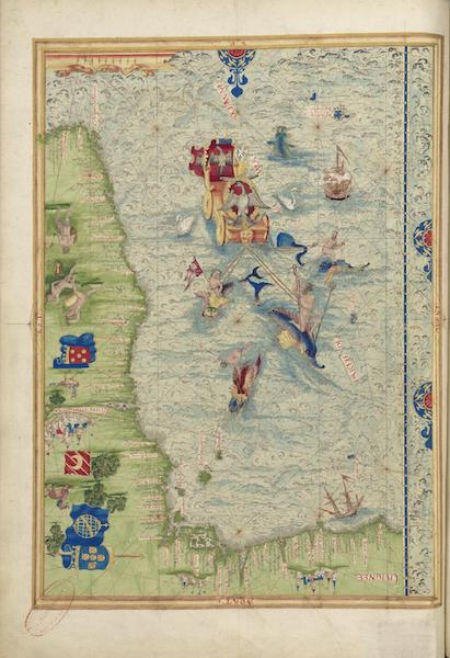 Cosmographie Universelle - Afrique occidentale II (1555)