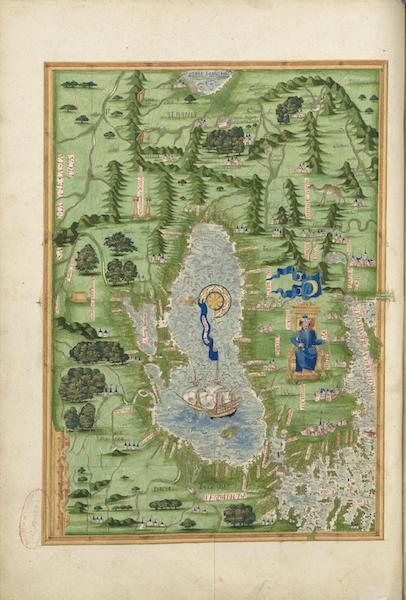 Cosmographie Universelle - Pourtour de la mer noire (1555)