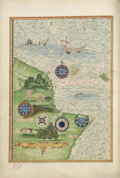 Cosmographie Universelle - Terre australe (1555)