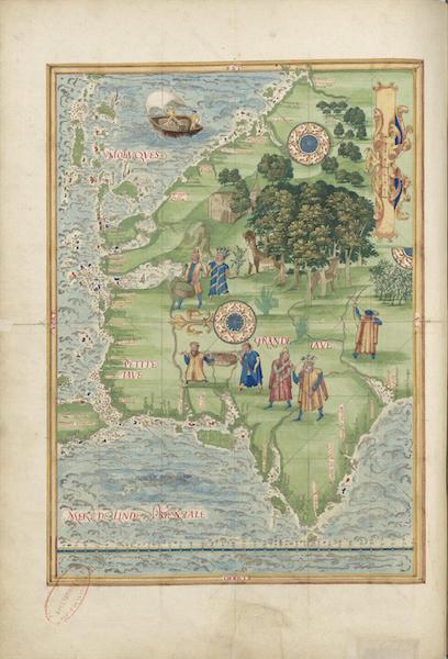 Cosmographie Universelle - Grande et Petite Jave I (1555)