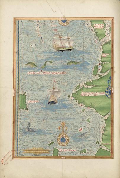 Cosmographie Universelle - Grande et Petite Jave II (1555)