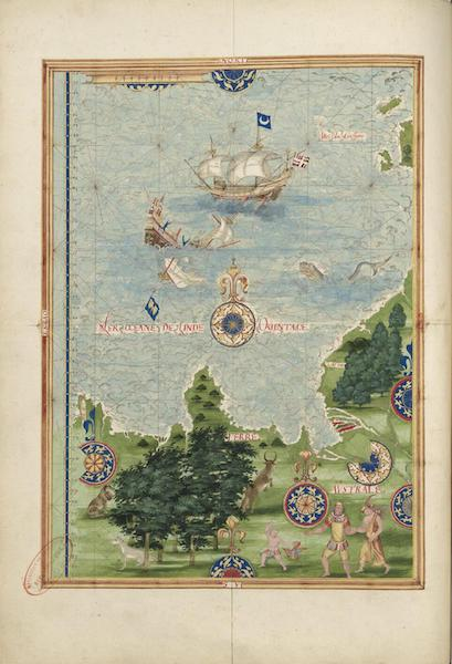Cosmographie Universelle - Terre australe II (1555)