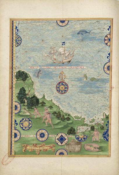Cosmographie Universelle - Terre australe III (1555)