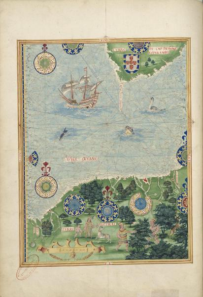 Cosmographie Universelle - Terre australe IV (1555)