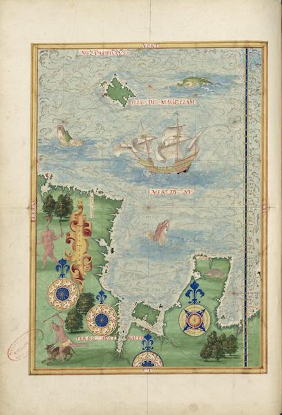 Cosmographie Universelle - Terre australe VIII (1555)