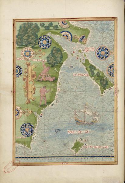 Cosmographie Universelle - Terre australe IX (1555)