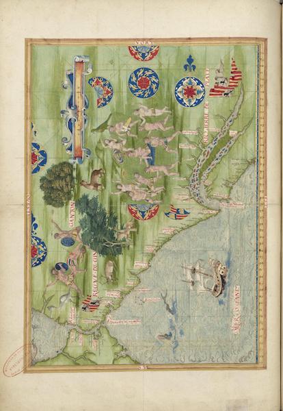 Cosmographie Universelle - Royaume de Ginganton (1555)