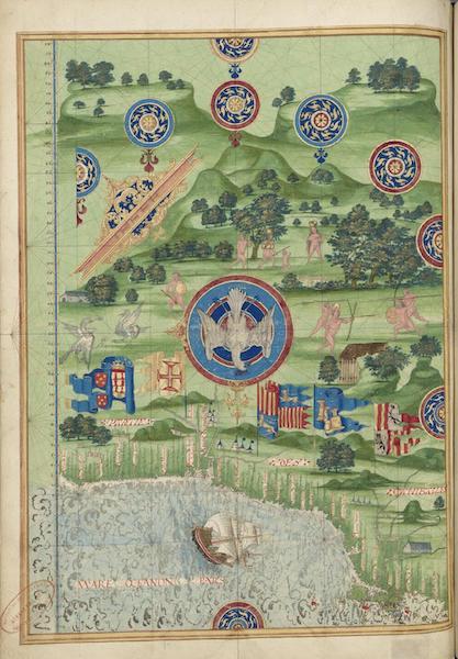 Cosmographie Universelle - Partie des canibales (1555)