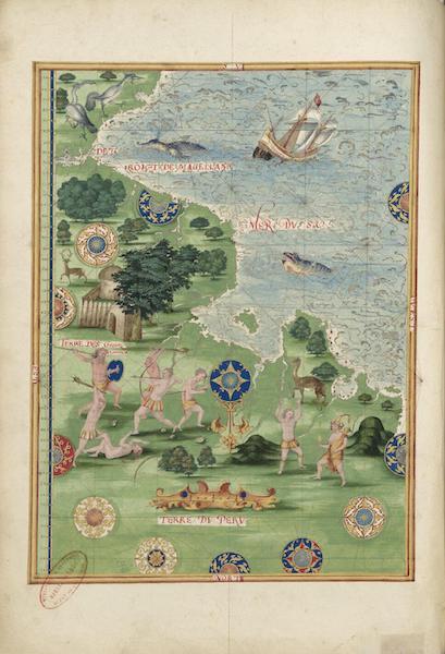 Cosmographie Universelle - Terre du Perou II (1555)