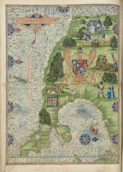 Cosmographie Universelle - Neuve Espagne I (1555)