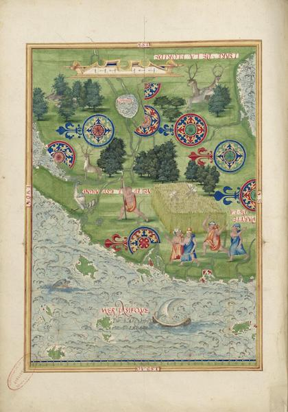 Cosmographie Universelle - Neuve Espagne II (1555)