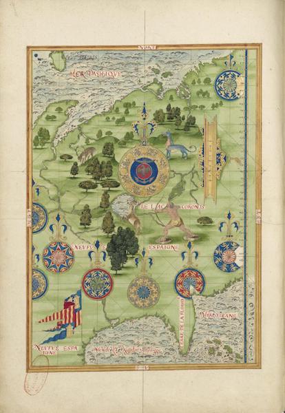 Cosmographie Universelle - Neuve Espagne III (1555)