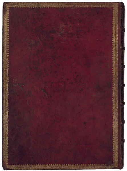 Cosmographie Universelle - Back Cover (1555)