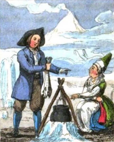 Cosmorama : A View of the Costumes and Peculiarities of all Nations - Icelanders (1827)