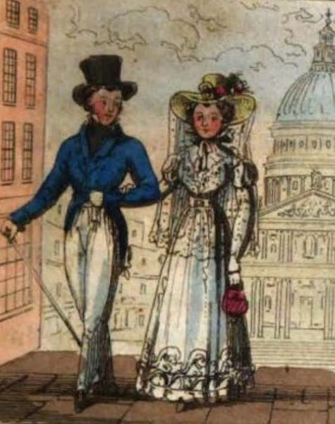 Cosmorama : A View of the Costumes and Peculiarities of all Nations - Londoners (1827)