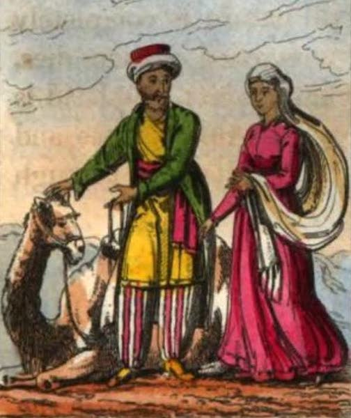 Cosmorama : A View of the Costumes and Peculiarities of all Nations - Arabians (1827)