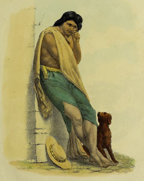 Costumes Civils, Militaires et Religieux du Mexique - (Lepero) Vagabond (1828)