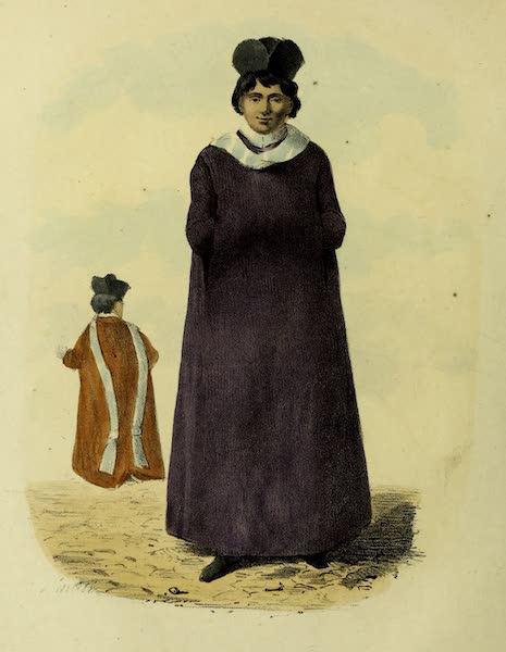 Costumes Civils, Militaires et Religieux du Mexique - Seminarisle (1828)