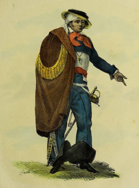 Costumes Civils, Militaires et Religieux du Mexique - (Hacendado) Proprietaire (1828)