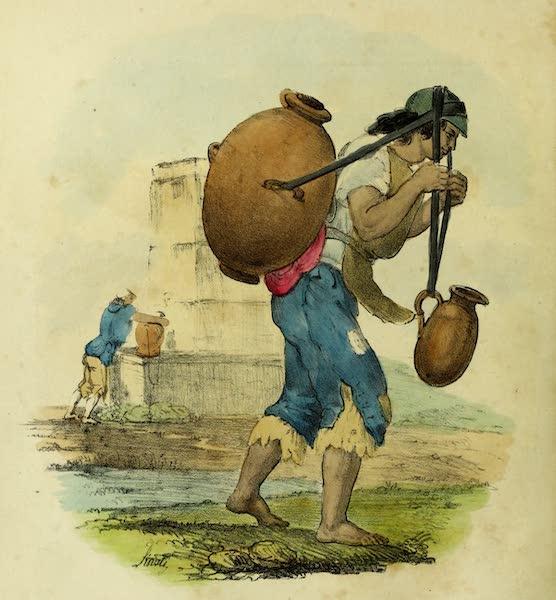 Costumes Civils, Militaires et Religieux du Mexique - Aguador. Porteur d'eau (1828)