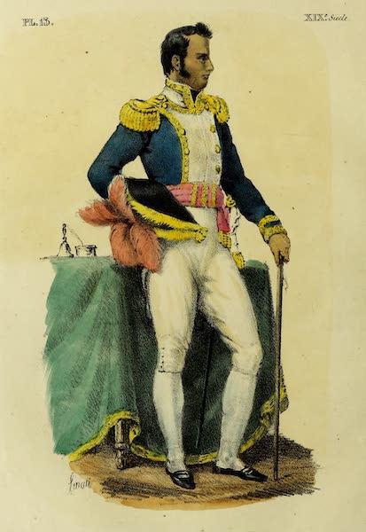 Costumes Civils, Militaires et Religieux du Mexique - Le general Guadalupe Victoria - [ex] President de la republique Mexicaine (1828)