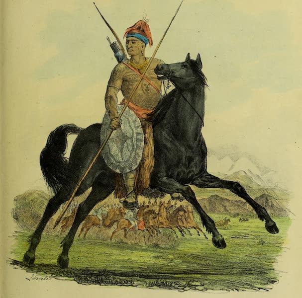 Costumes Civils, Militaires et Religieux du Mexique - Cacique Apache (1828)