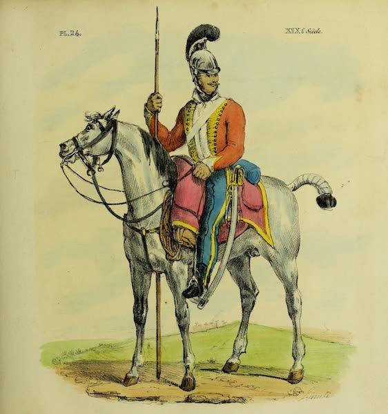 Costumes Civils, Militaires et Religieux du Mexique - Lancer Mexicain (1828)