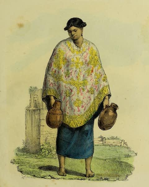 Costumes Civils, Militaires et Religieux du Mexique - Servante Indienne (1828)