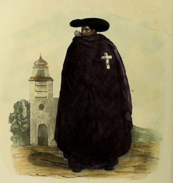 Costumes Civils, Militaires et Religieux du Mexique - Fray Gregorio, Carmelite (1828)