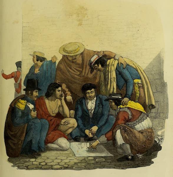 Costumes Civils, Militaires et Religieux du Mexique - Le Monte (1828)