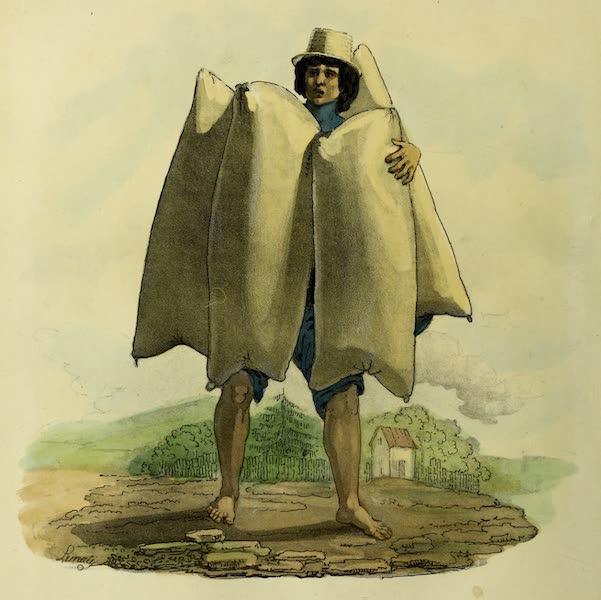 Costumes Civils, Militaires et Religieux du Mexique - Marchand d'Outres a Pulque (1828)