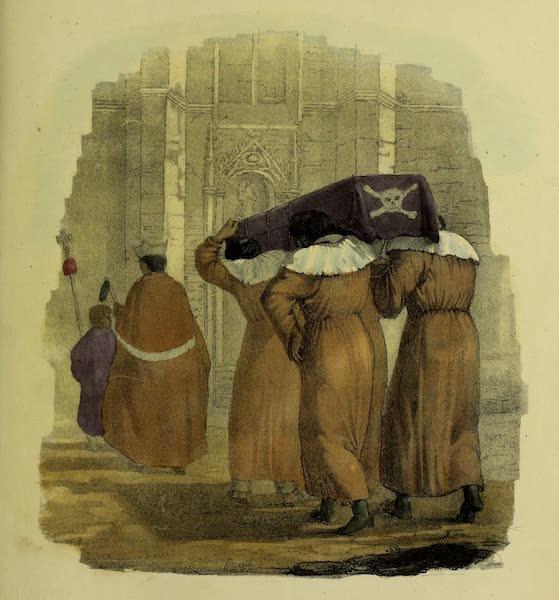 Costumes Civils, Militaires et Religieux du Mexique - Enterrement d'un Pauvre (1828)