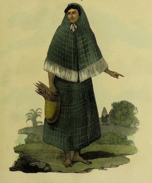 Costumes Civils, Militaires et Religieux du Mexique - Femme de Cuidad Rodrigo. Province de Yucatan (1828)