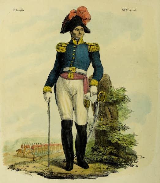 Costumes Civils, Militaires et Religieux du Mexique - Filisola Calabrais. Generale de Cavalerie, commandant de la place de Mexico (1828)