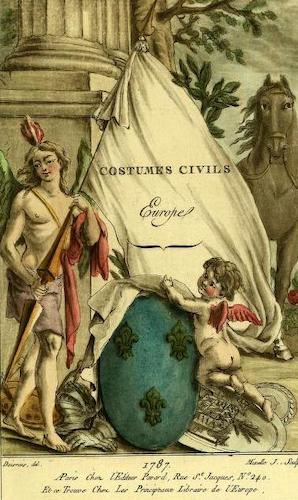 Aquatint & Lithography - Costumes Civiles Vol. 1 - Europe