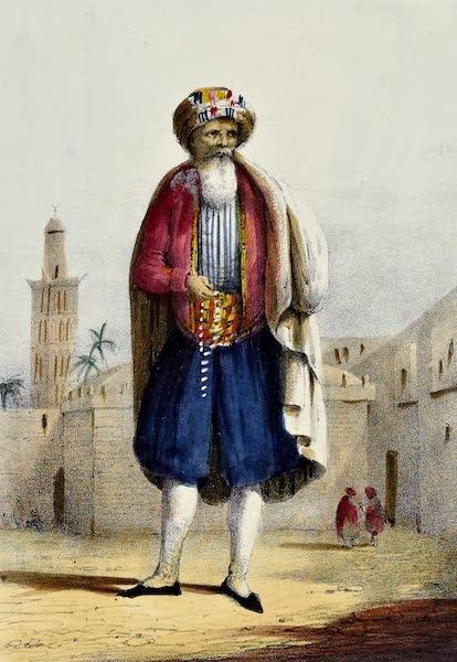 Costumes, Moeurs et Usages des Algeriens - Un Marabout (1837)