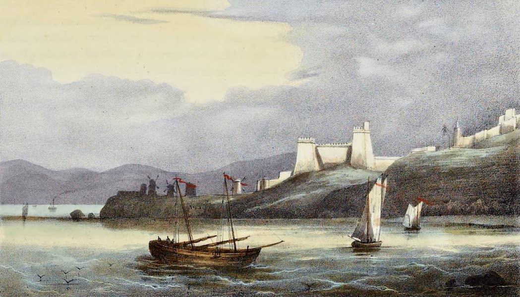 Costumes, Moeurs et Usages des Algeriens - Vue des Moulins et du Fort des 24 heurs pres d'Alger (1837)